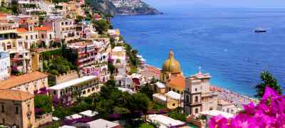 Travel to the Amalfi Coast in Italy