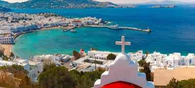Santorini, Mykonos & Athens Adventure