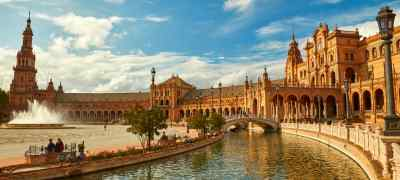 Travel to Seville in Spain