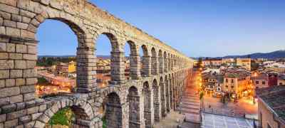 Travel to Segovia in Spain