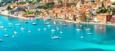 Travel to the French Riviera in France