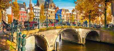 London & Amsterdam by Rail
