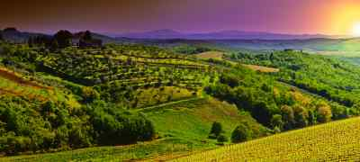 Travel to Tuscany in Italy
