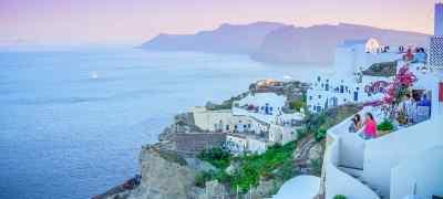 Greek Highlights: Athens, Mykonos and Santorini W/ High Speed Ferry