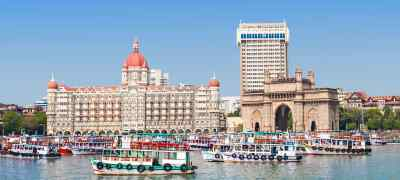 India's Golden Triangle with Mumbai