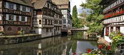 Travel to Strasbourg in France