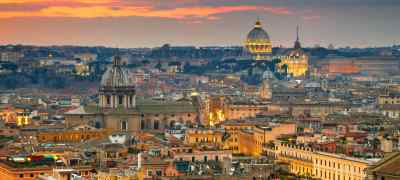 Travel to Rome in Italy