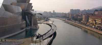 Travel to Bilbao in Spain