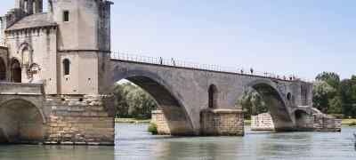 Travel to Avignon in France