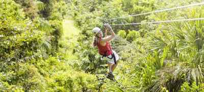 Costa Rican Adventure: White Water Rafting, Zip Lines & Snorkeling