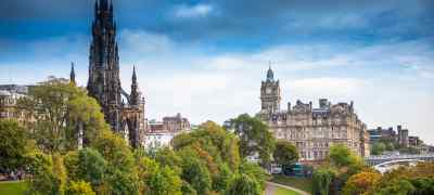 Explore London & Edinburgh by Rail