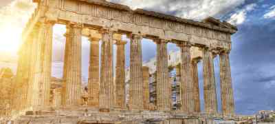 Greek Highlights: Athens, Mykonos and Santorini W/ High Speed Ferry