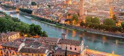 Travel to Verona in Italy