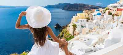 Aegean Escape with Santorini
