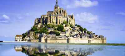 Travel to Normandy in France