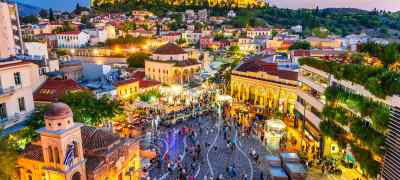 Take In the Sights of Athens' Nightlife