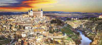 Travel to Toledo in Spain