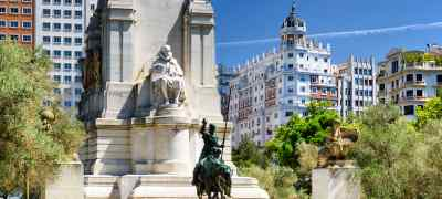 Travel to Madrid in Spain