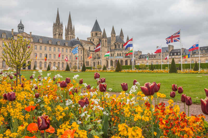 Caen in spring