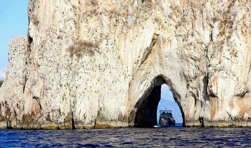 Island of Capri in Italy