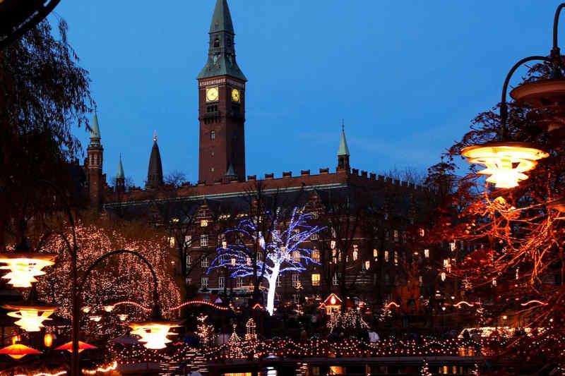 Copenhagen at the holidays