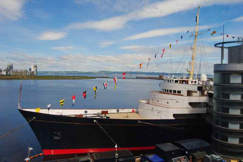 Travel to Scotland to see Royal Yacht Brittania
