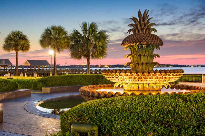 Waterfront Park, Charleston, South Carolina, USA