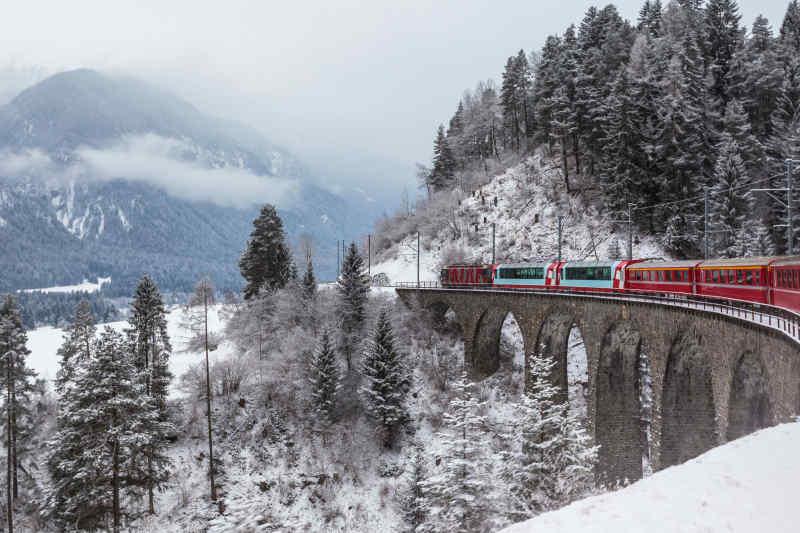 Glacier Express • Zermatt, Switzerland