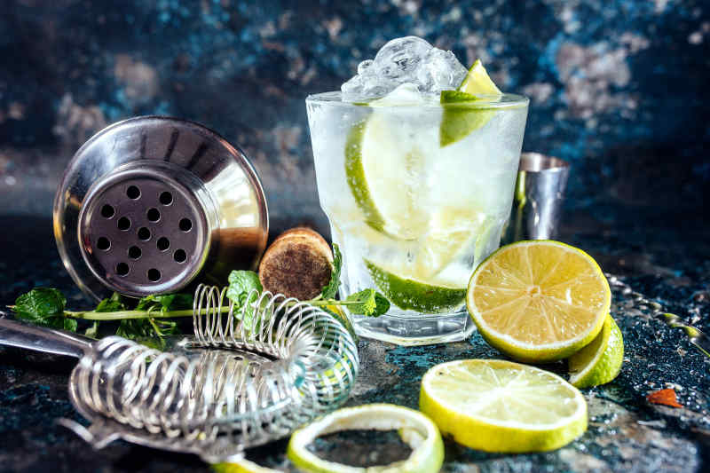 Gin and Tonic, England