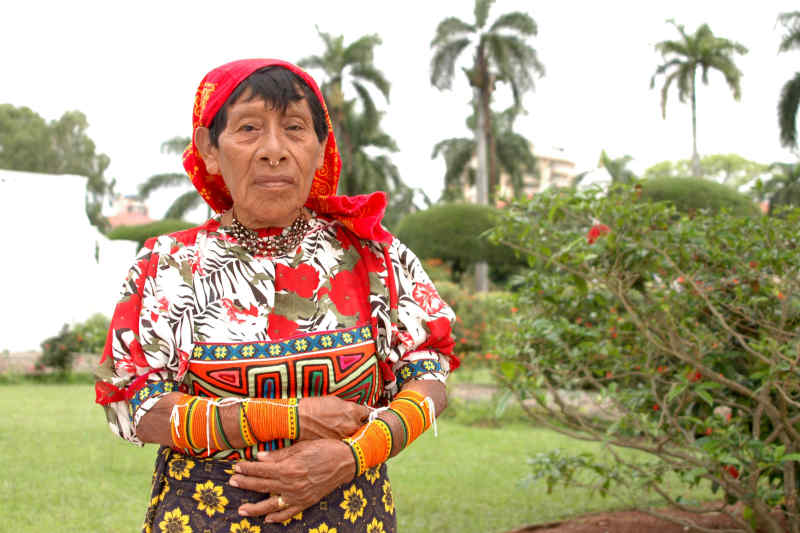 Panama indigenous woman