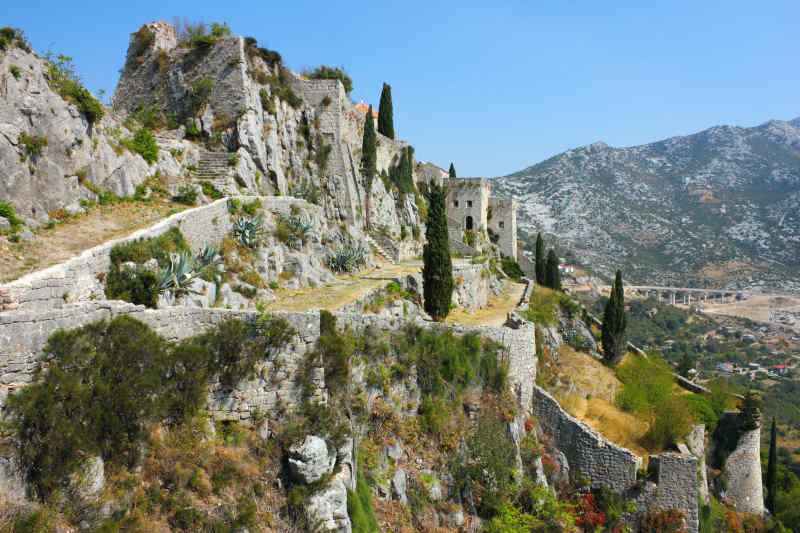 Klis Fortress in Split