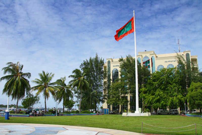 Maldives capital and flag