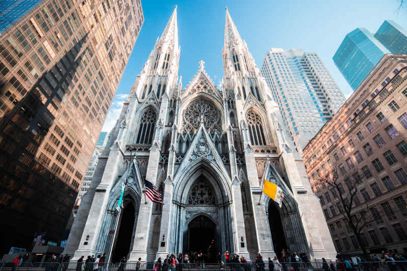New York St. Peter's Cathedral