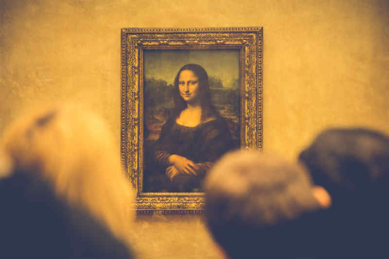 Mona Lisa at the Louvre, Paris