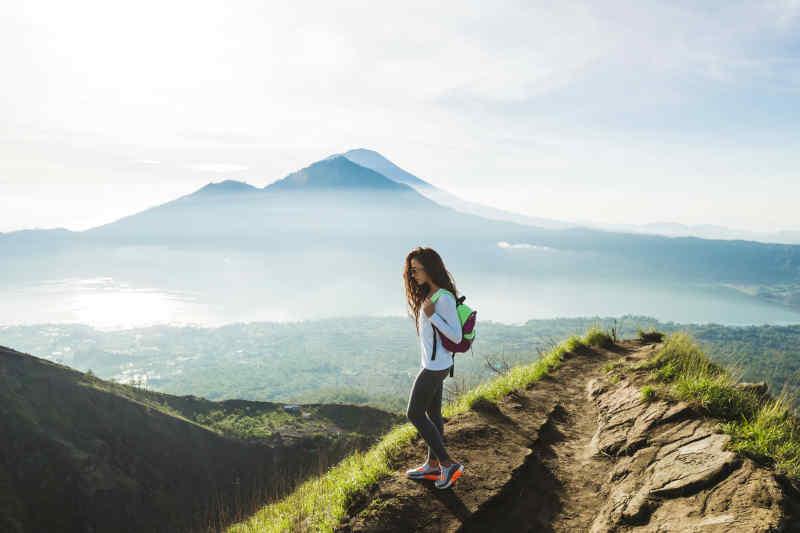 Hiking Mt. Batur