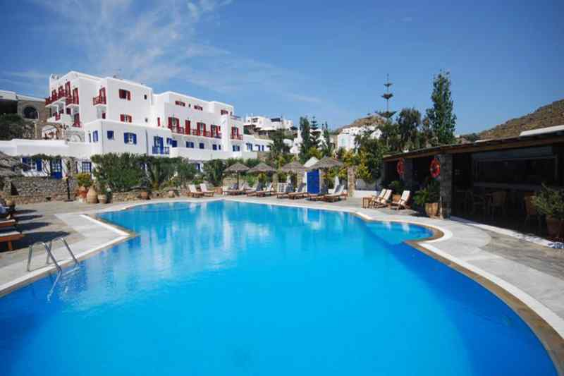 Travel to Mykonos in Greece