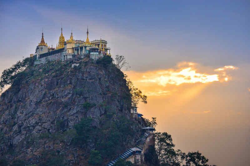 Popa Tuang Kalat Monastery