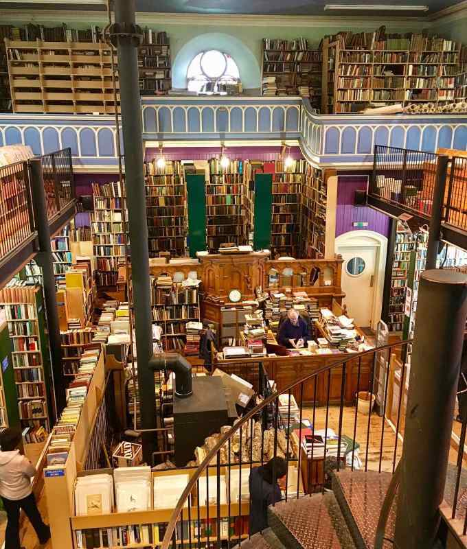 Leakey's Bookshop in Inverness, Scotland