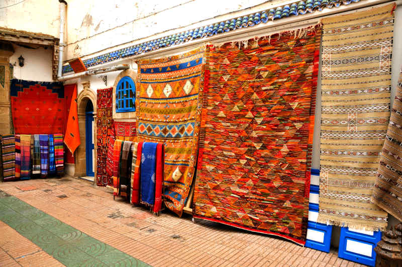 Berber Carpet in Morocco