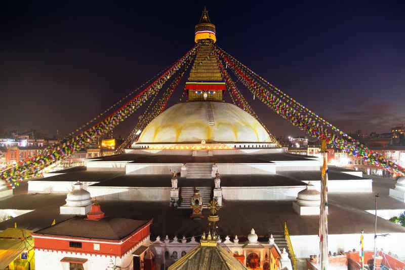 Boudhanath Stupa • Kathmandu