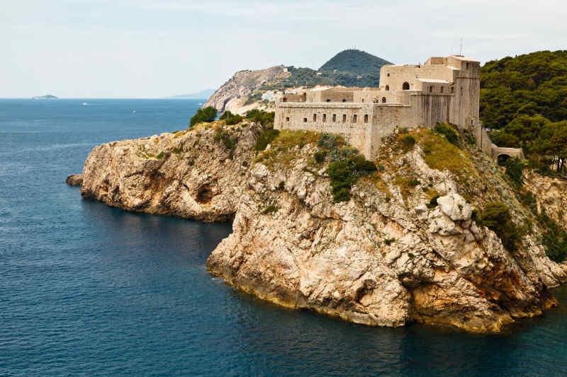 Lovrijenac Fort in Dubrovnik