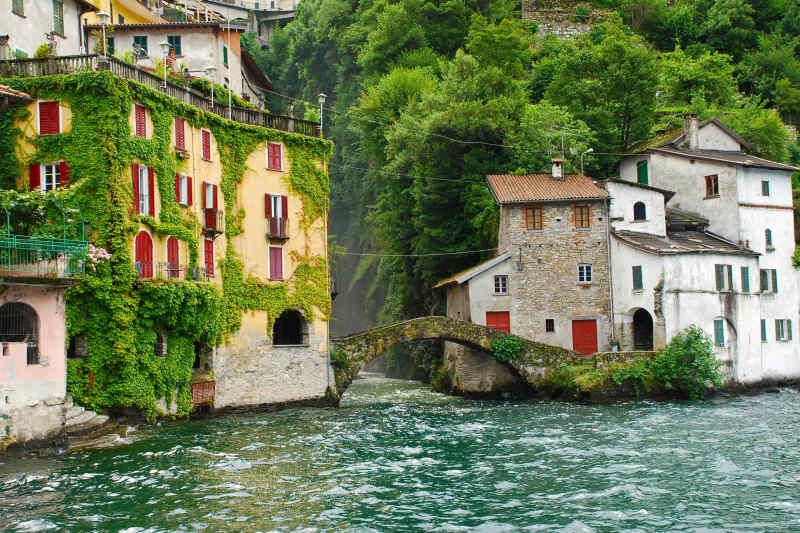 Peaceful homes on Lake Como, Italy