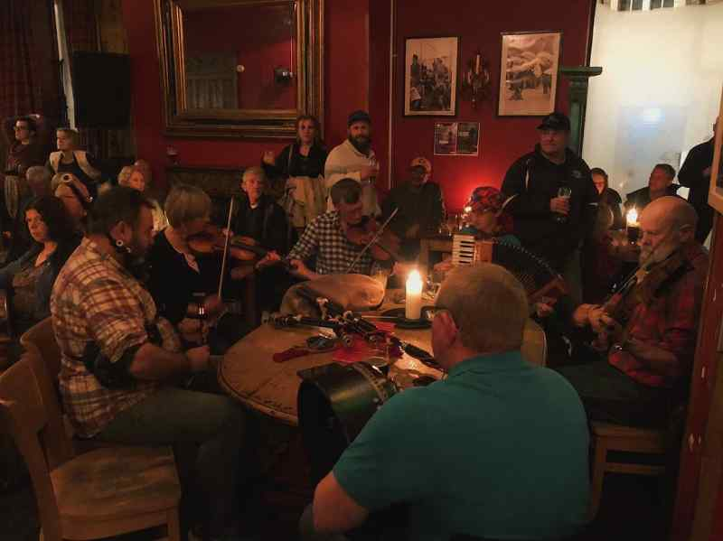 Live music in Inverness, Scotland