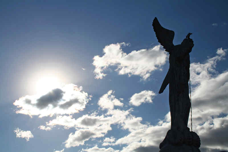 Winged Virgin Mary Statue • Quito, Ecuador