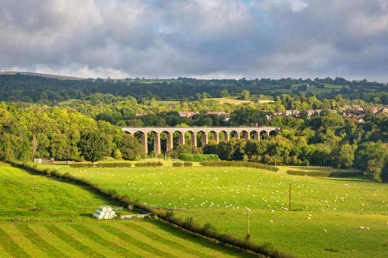 Pontcysyllte Aqueduct • Llangollen, Wales