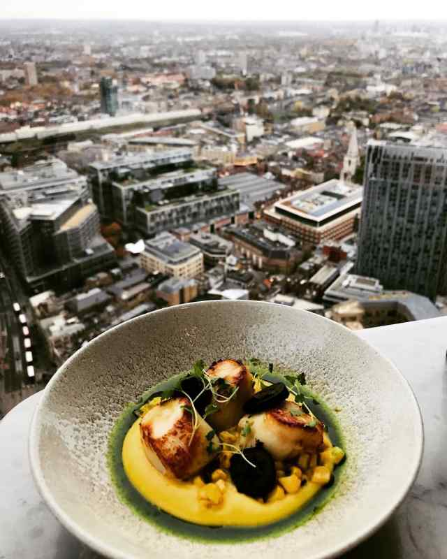 Duck & Waffle in London, England