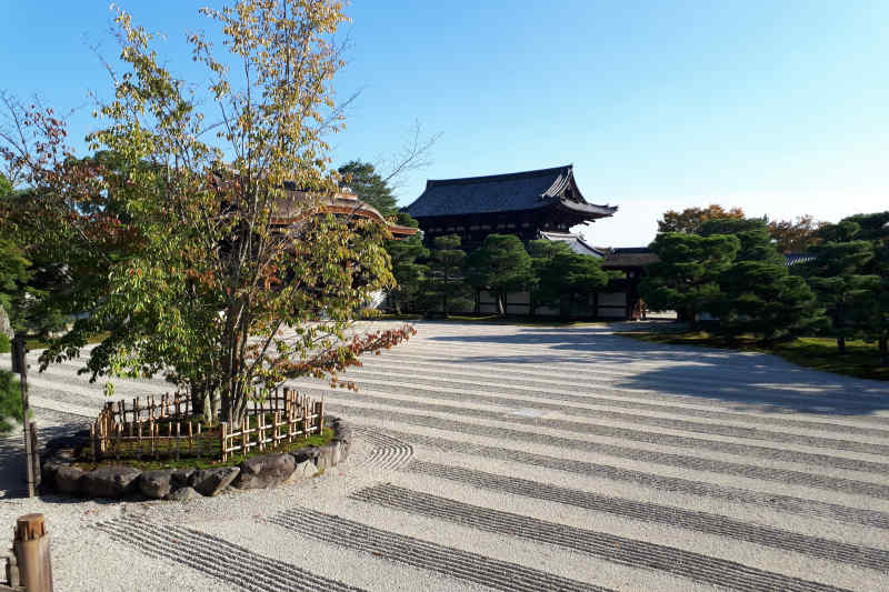 Ryoanji Zen Garden in Kyoto, Japan