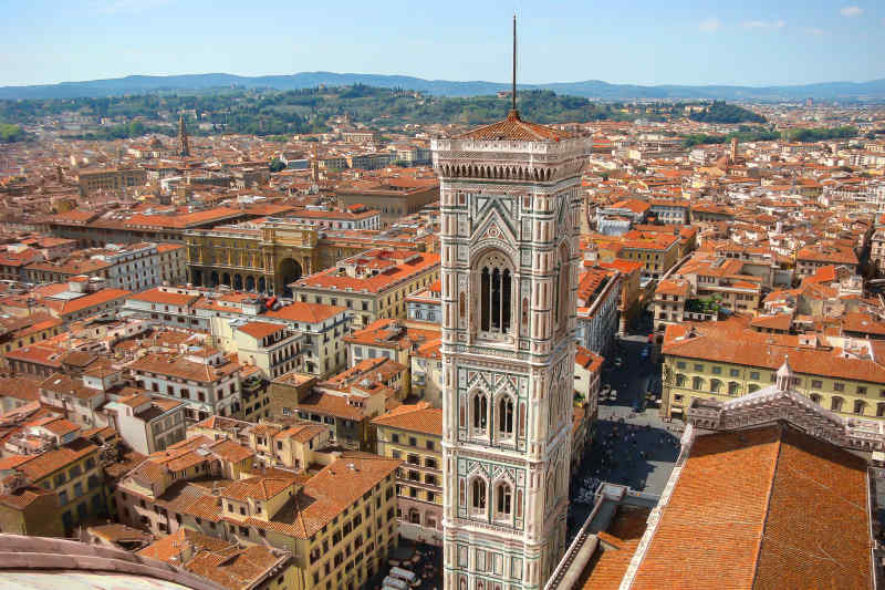 Florence Bell Tower in Italy