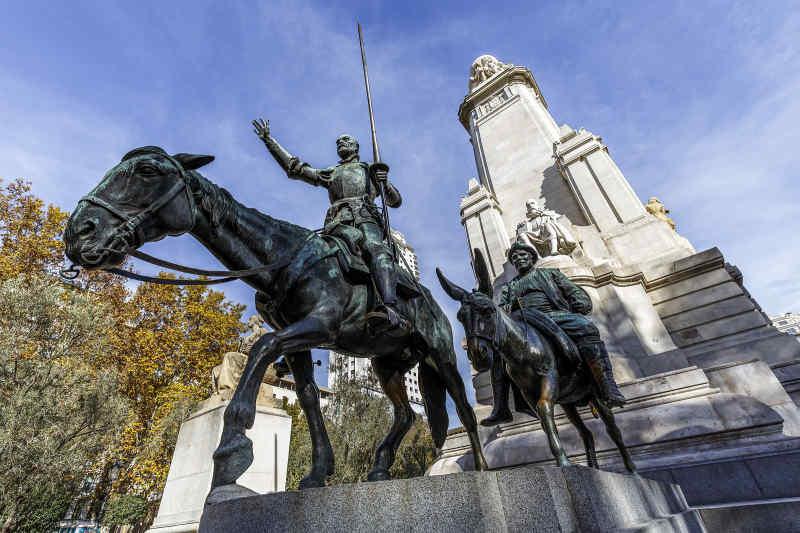 Don Quixote Statue Madrid