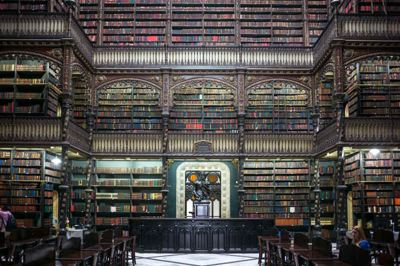 Royal Portugese Reading Room in Rio de Jeneiro, Brazil